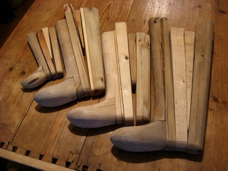 Изготовление валенок - деревянные формы