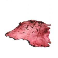 Ковер-шкура Ван Гог розовая