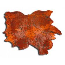 Ковер-шкура Ван Гог вулкан
