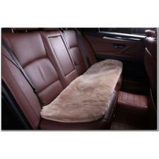 Накидка на сиденье автомобиля меховая квадрат